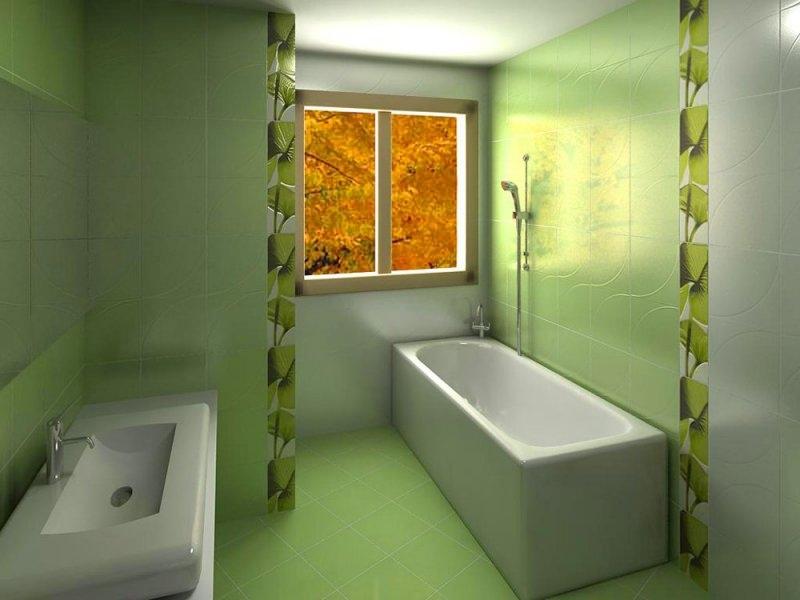 Зелёная испанская плитка